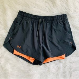 Underarm our workout shorts